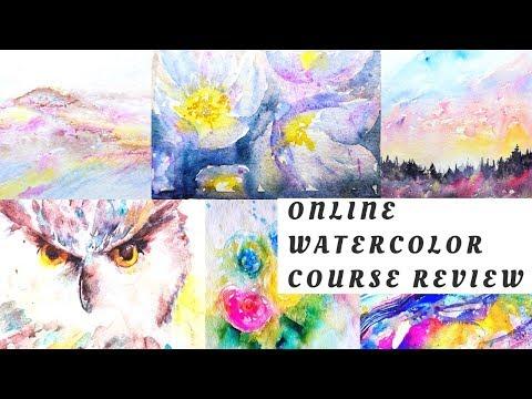 Best Online Course I've Taken -Watercolor Mastery