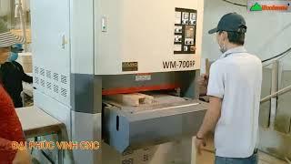 MÁY CHÀ NHÁM THÙNG 7 Tấc Cao Cấp  TRung Quốc Wm-700RP Woodmaster giá rẻ nhất