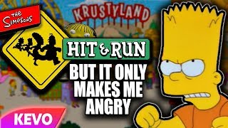 Simpsons Hit And Run but it only makes me angry