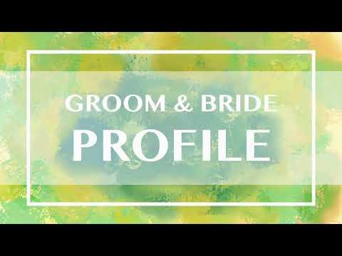 写真を撮らないカップル向けの結婚式ムービー作ります 写真がなくても寂しくならないような演出をします。 イメージ1