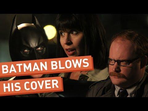 Batman chrání svou identitu