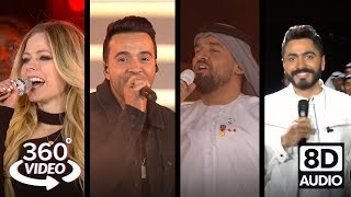 Special Olympics Opening Ceremony w/ Avril Lavigne, Luis Fonsi, Tamer Hosny | 360° + 3D Audio