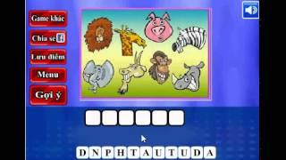 Trò chơi Đuổi hình bắt chữ Game 24H phiên bản mini chơi trên Desktop