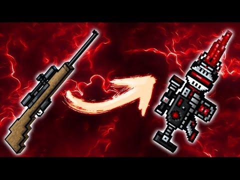 Pixel Gun 3D - Using All Sniper Weapons Challenge