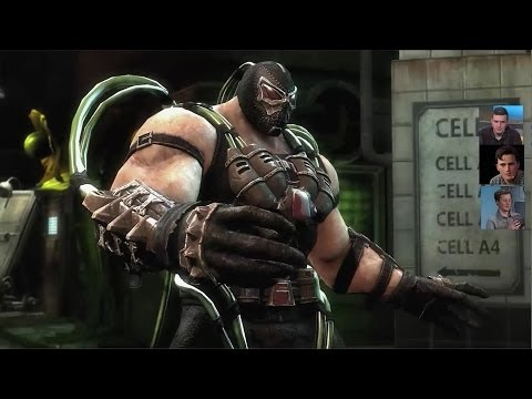 Injustice: Gods Among Us – záběry z PS4 verze