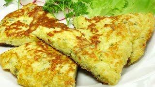 Смотреть онлайн Ленивые хачапури к завтраку