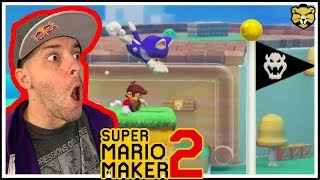 Super Mario Maker 2: Multiplayer #4: Win The Console Of Your Choice! Awesome Double Giveaway!