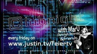 FeierTV  Clubnight with MarV (Synonym Records) 10.05.2013