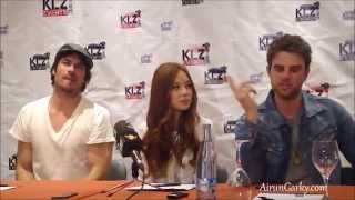 Малез Джоу, BloodyNightCon Press Conference - Ian Somerhalder, Malese Jow, Nathaniel Buzolic. Video 2.