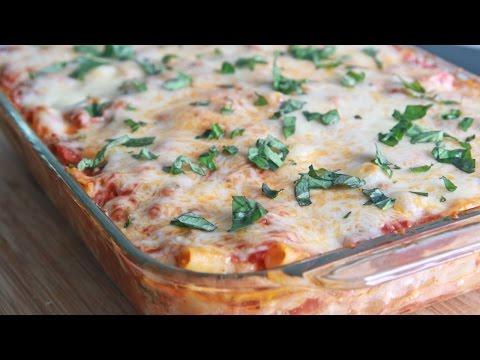 Mom's Easy Baked Ziti Recipe