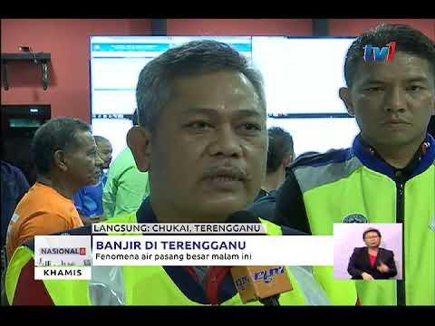LANGSUNG DARI KEMAMAN - PERKEMBANGAN TERKINI BANJIR TERENGGANU 8PM [4 JAN 2018]