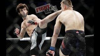 Забит Магомедшарипов vs Брэндон Дэвис . UFC 228. Лучшая ударка . Лучшие моменты