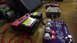 Xotic  AC/RC-OZ  を弾いてみました。 AC/RC-OZ - Oz Noy Limited Edition Boost/Overdrive Pedal