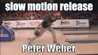 Peter Weber slow motion release - PBA Bowling