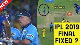 IPL FINAL 2019 FIXED ?   MI vs CSK  Csk vs Mi