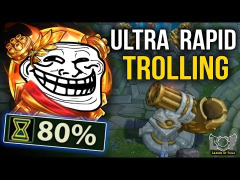 Ultra Rapid TROLLING in URF 2019