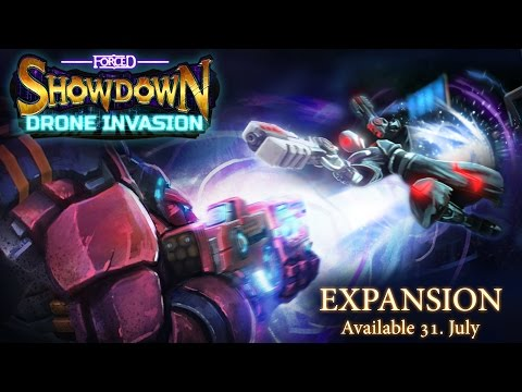Forced Showdown Drone Invasion Expansion Release Trailer thumbnail