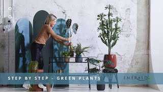 Emerald Eternal Green - Step By Step - Green Plants - Part 5. Inspiration For 2020.