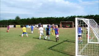 preview picture of video 'Day 2 - Snapshot of the Everton Soccer Camp 2014'