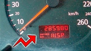 Как убрать надпись INSP или сброс сервисного интервала Audi / Passat / Skoda