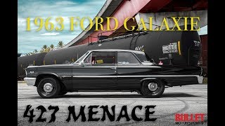 1963 Ford Galaxie With 427FE Ripping Through The Gears! -[HD] Bullet Motorsports