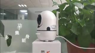 Auto tracking Dome mini YCC365 IP Camera
