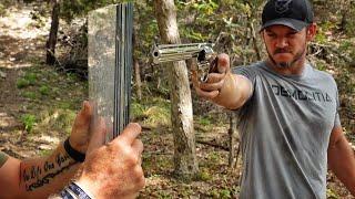 Colt Python vs DIY Bullet Proof Glass!!!