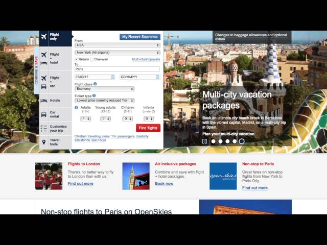 Travel Tips : How to Book Award Travel