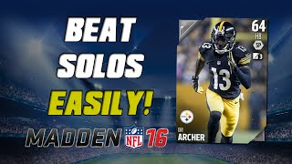 How To Beat Solo Challenges Easily! | Madden 16 Ultimate Team - MUT 16 Tips ep. 1