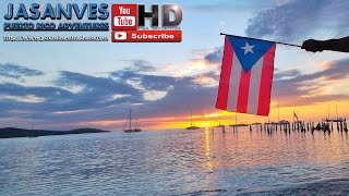 preview picture of video 'Beautiful and Exceptional Sunset Time-Lapse Poblado Boqueron Puerto Rico'