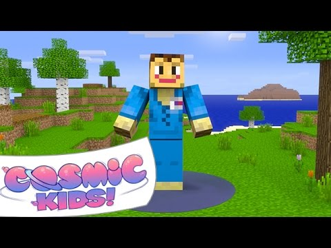 Minecraft. A Cosmic Kids Yoga Adventure