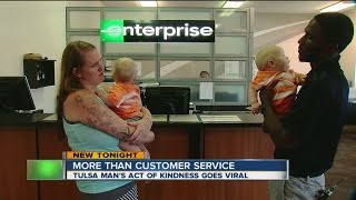 Tulsa Man's Act Of Kindness Goes Viral