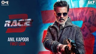 First Look of Anil Kapoor as Shamsher | Race 3 | Remo D