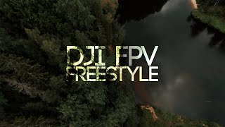 DJI FPV FREESTYLE AT ONE OF THE MOST AMAZING LOCATIONS IN LATVIA