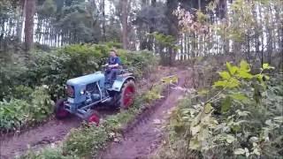 Eicher Diesel luftgekühlt im Forst