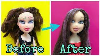 Как стереть пятна с лица куклы #лайфхаки #Братц #куклы #Bratzdoll #bratz #hacks #dolls