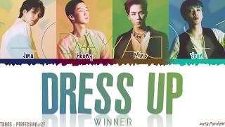 WINNER - 'DRESS UP' (빼입어) Lyrics [Color   - YouTube