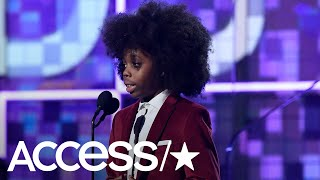Diana Ross' 9 Year Old Grandson Raif Henok Steals The 2019 Grammys Show With An Adorable Speech