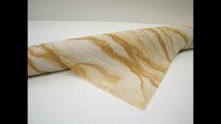 """Гибкий камень Монотон (персиковый) размер 280х140 см от компании ООО """"ПК """"Гибкий камень"""" - видео"""