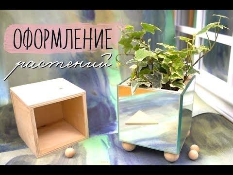 DIY Оформление комнатных растений / DIY Flower Room Decor