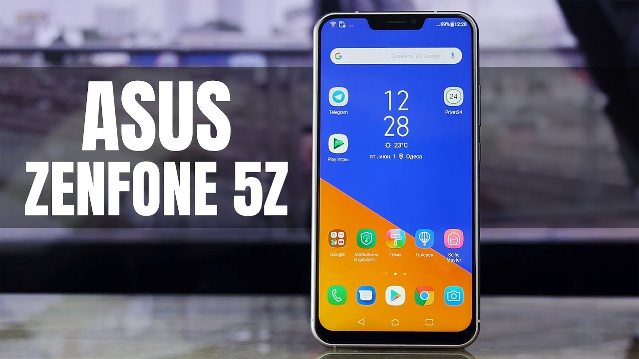Asus ZenFone 5z 8/256Gb Meteor Silver (ZS620KL) video preview