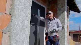 Самые энергоэфективные двери Hormann, Монтаж входной двери частного дома +в молдове