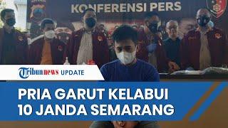 Pria Asal Garut Kelabui 10 Janda di Semarang, Porotin Harta Korban hingga Rp179 Juta