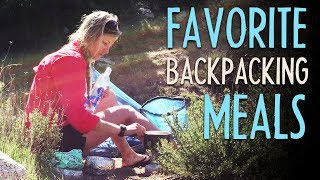 My 5 Favorite Backpacking Meals