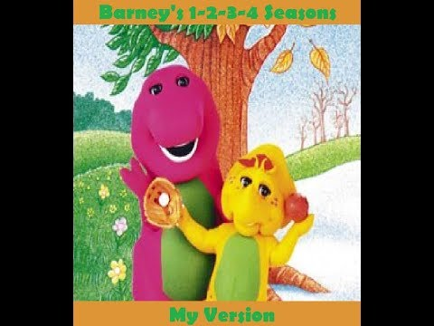 barney s 1 2 3 4 seasons my version