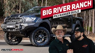 😲 OWNER SHOCKING REACTION 😲 //Big River Ranch Ford Ranger PX-3 Build 2019//
