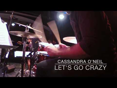 "Performing ""Let's Go Crazy"" with Cassandra O'neil."