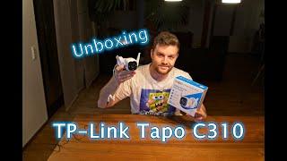 Outdoor Wlan Kamera - TP-Link Tapo C310 (1080P, Netzwerk, Alarm, Smart Home) - Unboxing