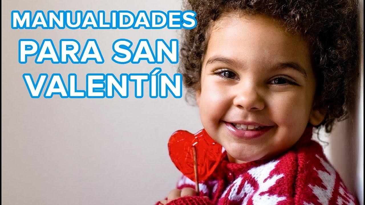 7 Manualidades para San Valentín  | Día de los enamorados con niños