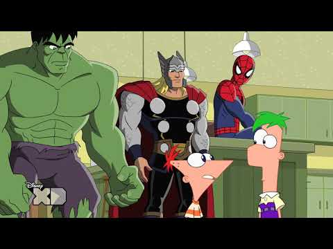Phineas and Ferb | Mission Marvel - Part 1 | Disney XD